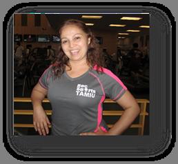 Sandra Leal, fitness instructor