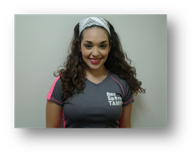 Alexis Garza, fitness instructor