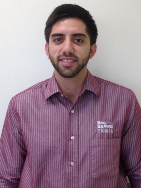 Picture of Mr. Eric Gonzalez Recreation and Intramural Specialist Recreational Sports