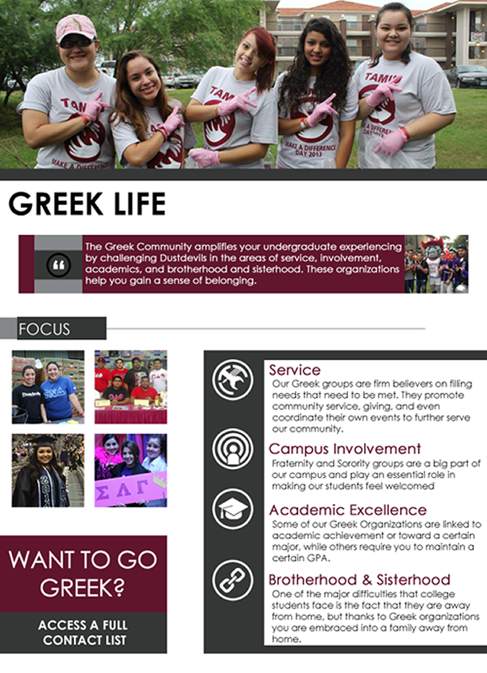 Greek Life Information and Links