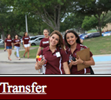 Link to Transfer Orientation Page
