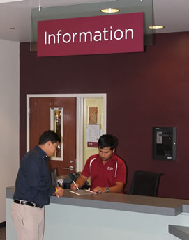 Student Center Information Desk