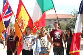 TAMIU Students at International Education Week