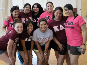 Kappa Delta Chi Members at TAMIU