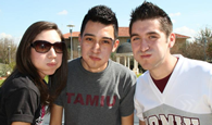 TAMIU Students at CAB Pep-Rally